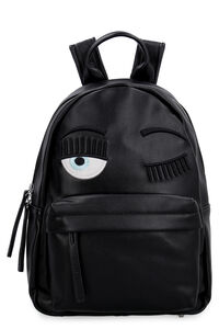 Flirting small faux leather backpack, Backpack Chiara Ferragni Collection woman