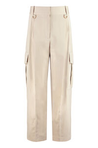 Cotton cargo-trousers, Tapered pants Givenchy woman