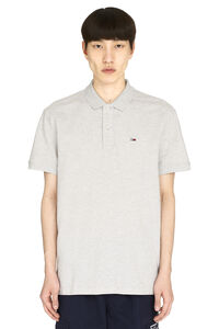 Cotton piqué polo shirt, Short sleeve polo shirts Tommy Jeans man