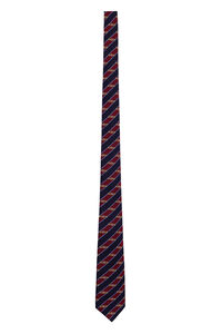 Striped silk tie, Ties Gucci man