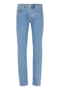 5-pocket jeans, Slim jeans Versace man