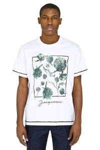 Mala crew-neck cotton T-shirt, Short sleeve t-shirts Jacquemus man