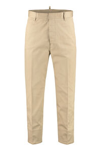 Pantaloni cropped-fit in cotone, Pantaloni Casual Dsquared2 man