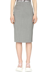 Tweed sheath skirt, Pencil skirts Alexander McQueen woman