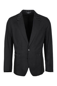 Single-breasted two-button blazer, Single breasted blazers Dolce & Gabbana man