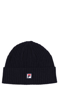 Ribbed knit beanie, Hats Fila man