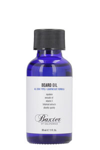 Beard Oil, 30 ml/1 fl oz, Beard Oil Baxter of California man