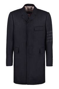 Wool and cashmere coat, Overcoats Thom Browne man