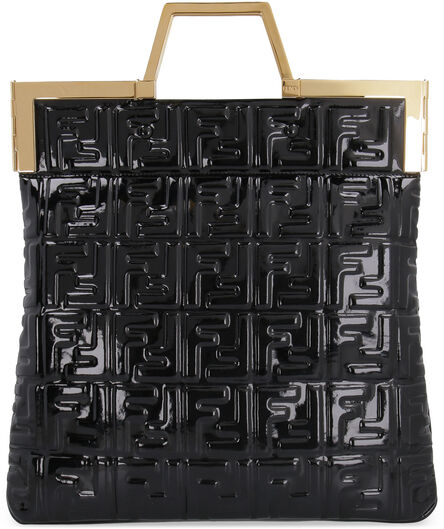 Patent leather tote, Tote bags Fendi woman