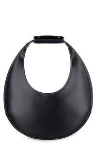 Moon leather bag, Top handle STAUD woman
