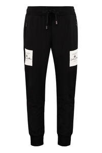 Logo patch sweatpants, Track Pants Dolce & Gabbana man