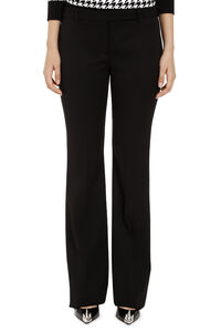 Virgin wool flared trousers, Flared pants Alexander McQueen woman