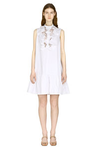 Ruffled mini dress, Mini dresses Alexander McQueen woman