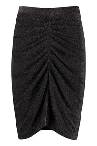 Knitted lurex skirt, Mini skirts Iro woman