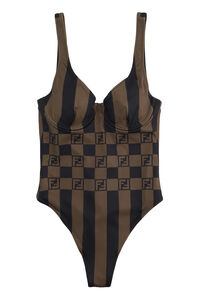 One-piece swimsuit with logo, One-Piece Fendi woman