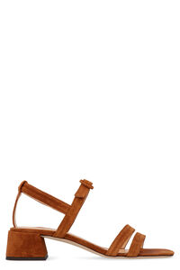Cuba suede sandals, Mid Heels sandals BY FAR woman
