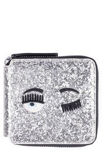 Flirting glitter wallet, Wallets Chiara Ferragni Collection woman