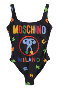 One-piece swimsuit with logo, One-Piece Moschino woman