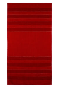 Cotton beach towel, Lifestyle Woolrich man