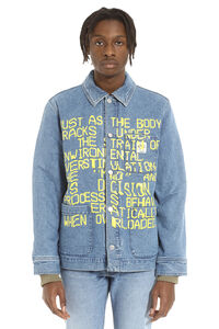 Coddy A.P.C. x Brain Dead denim jacket, Denim jackets A.P.C. man