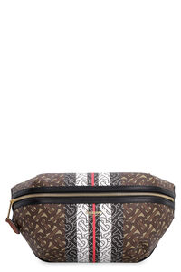 Canvas and leather belt bag, Beltbag Burberry woman
