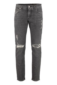 5-pocket slim fit jeans, Slim jeans Dolce & Gabbana man