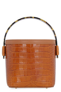 Adenia Crocodile print leather bag, Bucketbag Nico Giani woman