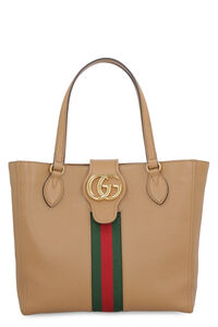 Dahlia leather tote, Tote bags Gucci woman