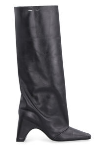 Leather boots, Knee-high Boots Coperni woman