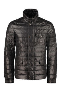 Zip and snap button fastening down jacket, Down jackets Dolce & Gabbana man
