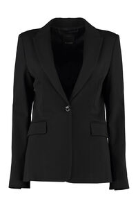 Signum single-breasted one button jacket, Blazers Pinko woman