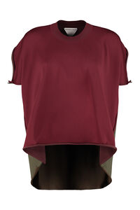 Knitted viscosa-blend top, Blouses Bottega Veneta woman