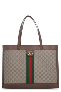 Ophidia GG supreme fabric tote bag, Totes Gucci man