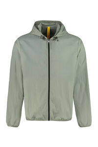 Oxybelis technical fabric hooded jacket, Raincoats And Windbreaker 5 Moncler Craig Green man