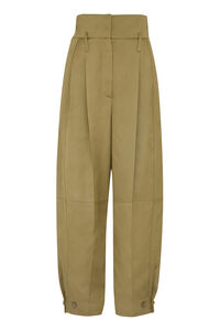 High-waist tapered-fit trousers, Tapered pants Givenchy woman