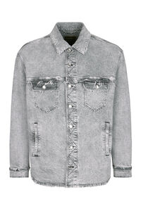 Destroyed denim jacket, Denim jackets Dolce & Gabbana man