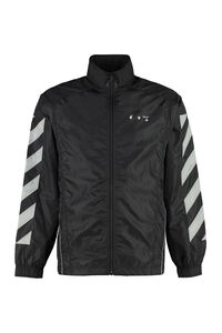 Techno fabric jacket, Raincoats And Windbreaker Off-White man