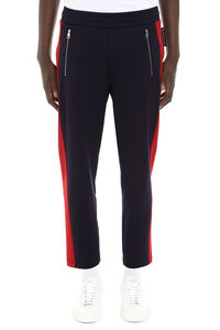 Contrasting side stripes track-pants, Track Pants Moncler man