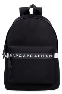 Savile techno-canvas backpack, Backpack A.P.C. man