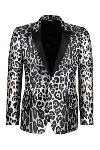 Single-breasted one button jacket, Single breasted blazers Dolce & Gabbana man
