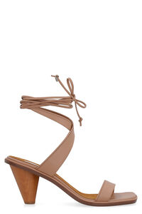 Rhea leather sandals, Mid Heels sandals Stella McCartney woman