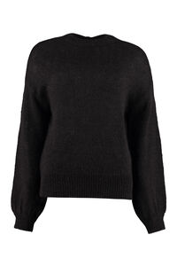 Ecuador mohair blend sweater, Crew neck sweaters Pinko woman