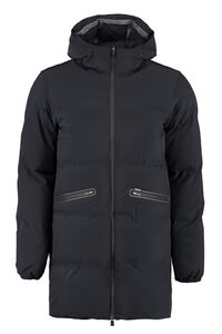 Technical fabric parka, Down jackets Herno man