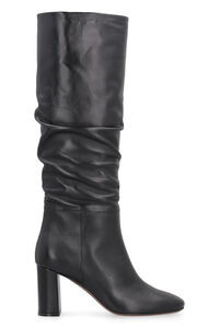Leather knee high boots, Heeled Boots L'Autre Chose woman
