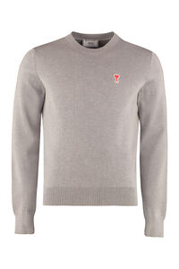 Crew-neck wool sweater, Crew necks sweaters AMI man
