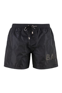 Logo print swim shorts, Swimwear Balmain man
