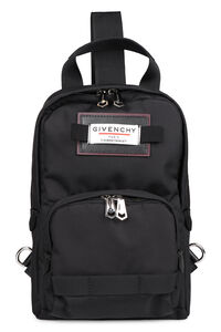 Downtown nylon one-shoulder backpack, Backpack Givenchy man