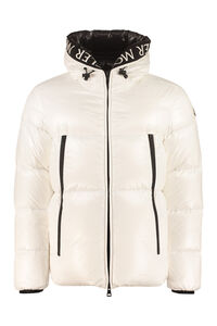 Baronnies hooded full-zip down jacket, Down jackets Moncler man