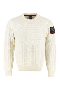 Cable knit pullover, Crew necks sweaters Paul&Shark man