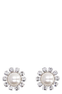 Faba embellished maxi-earrings, Earrings Alessandra Rich woman